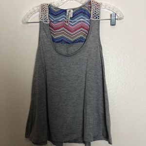 Ransom Tank top with crochet